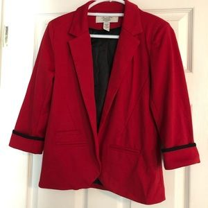 American Rag Red/ Black Blazer Size Small